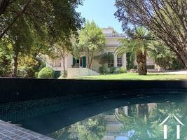 Belle demeure met park tuin nabij centrum van Montpellier